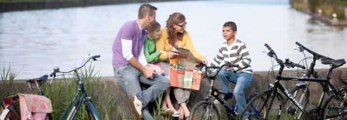 Family Cycling in Belgium