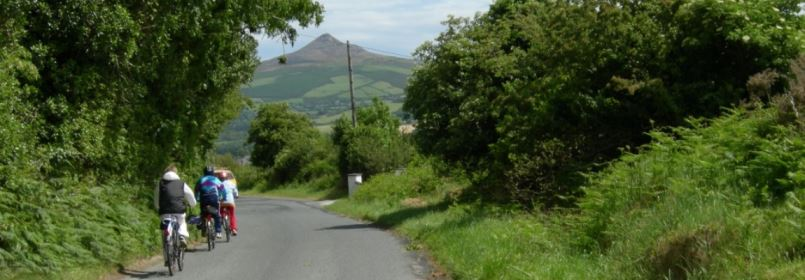 Cycling Tour of Dublin & Wicklow - Cyclists