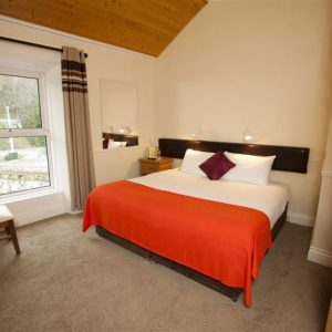 Cycling Tour of Dublin & Wicklow - Powerscourt Lodge Bedroom