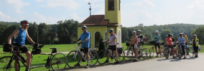 Cycling Holiday in Slovenia - Group of Cyclists